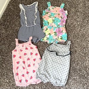 Baby girl Rompers by Carter's 💜